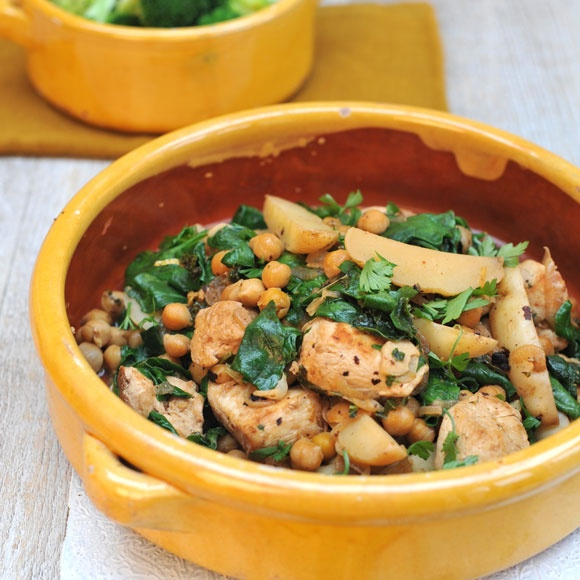 A fantastic lemon and coriander casserole recipe