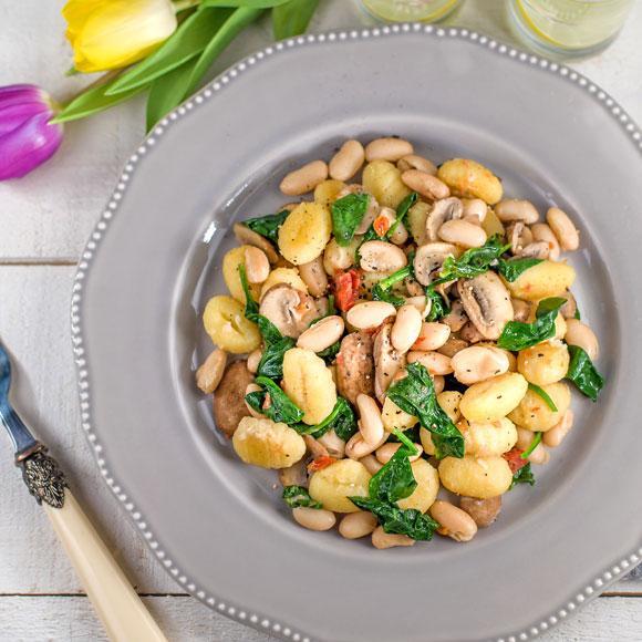 Tempt your tastebuds with this veggie gnocchi recipe